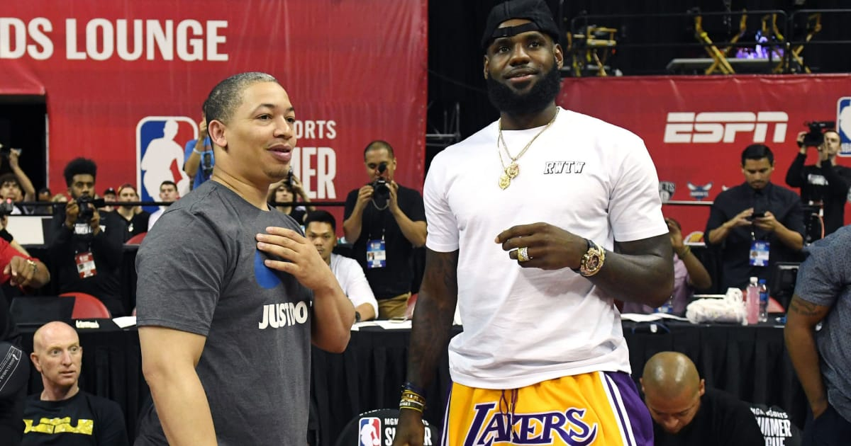 c072a1f2b24 My latest at  BleacherReport Lakers  Eager to See Our Version of the Death  Lineup  with LeBron at Center and is there a significant connection between  Jeff ...