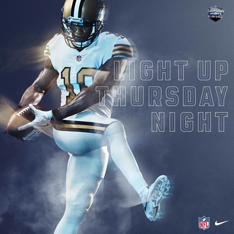 I Have Something To Say About The Saints Color Rush